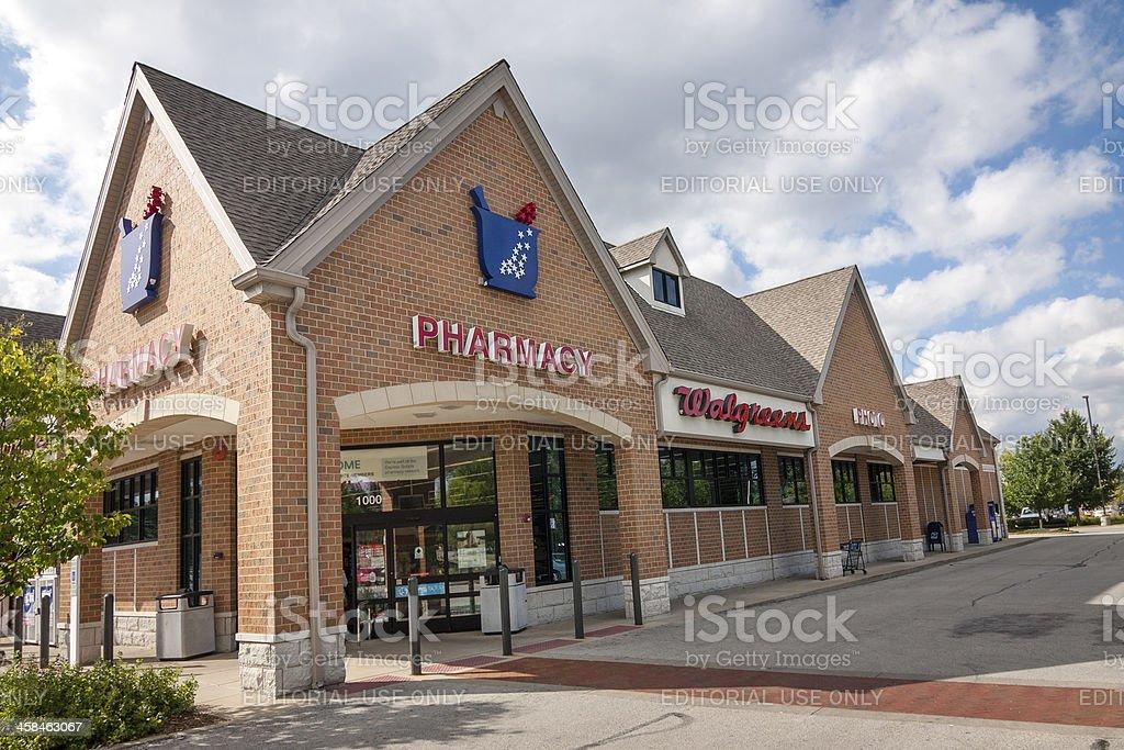 Walgreens Drug Store stock photo