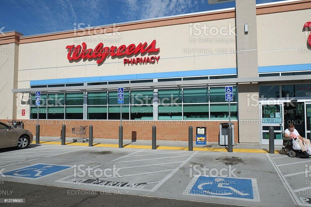Walgreens Pharmacy in California stock photo