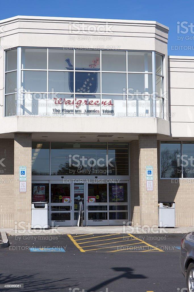 Walgreens Pharmacy stock photo