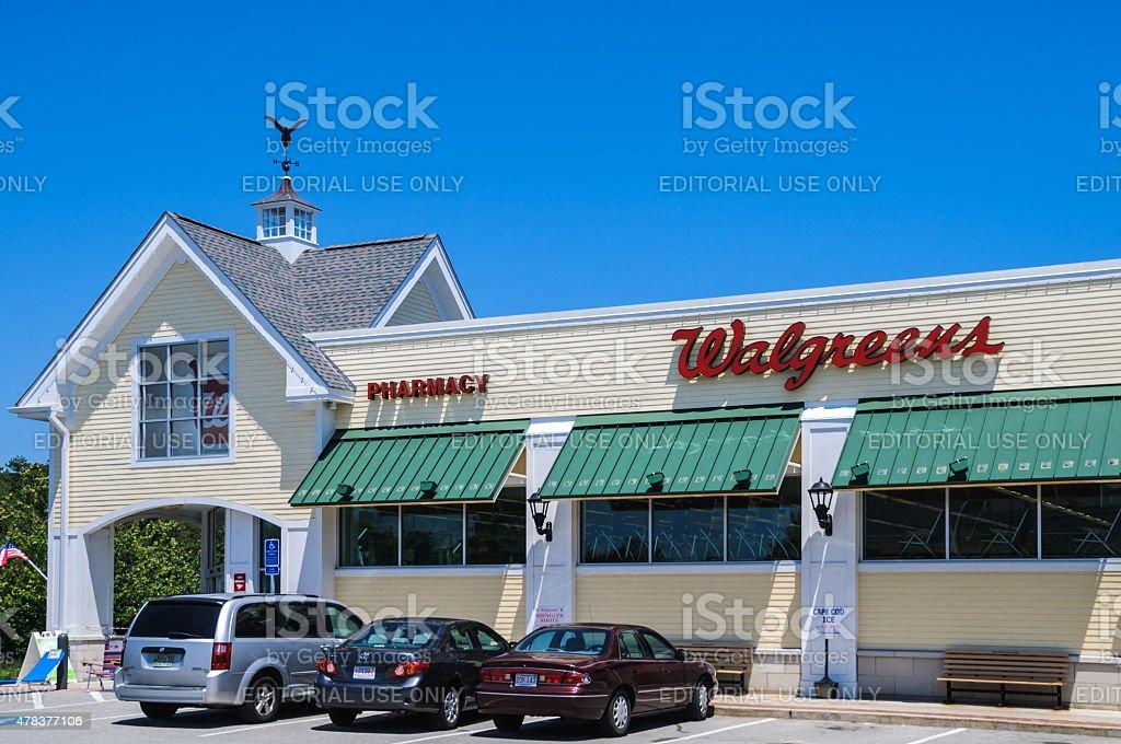 Walgreens Pharmacy-Mashpee stock photo