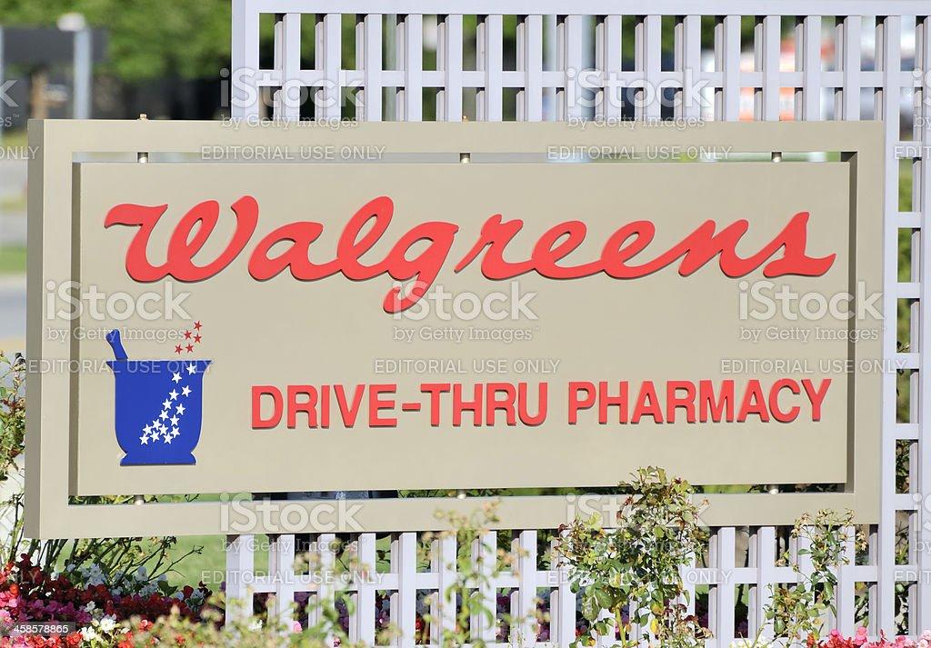 Walgreens stock photo