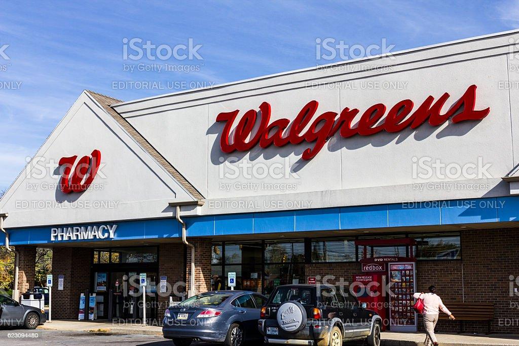 Walgreens Retail Location and Pharmacy VIII stock photo