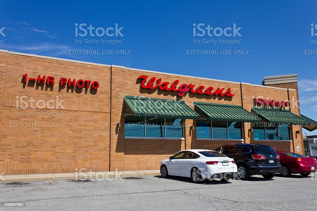 Walgreens Retail Location II stock photo