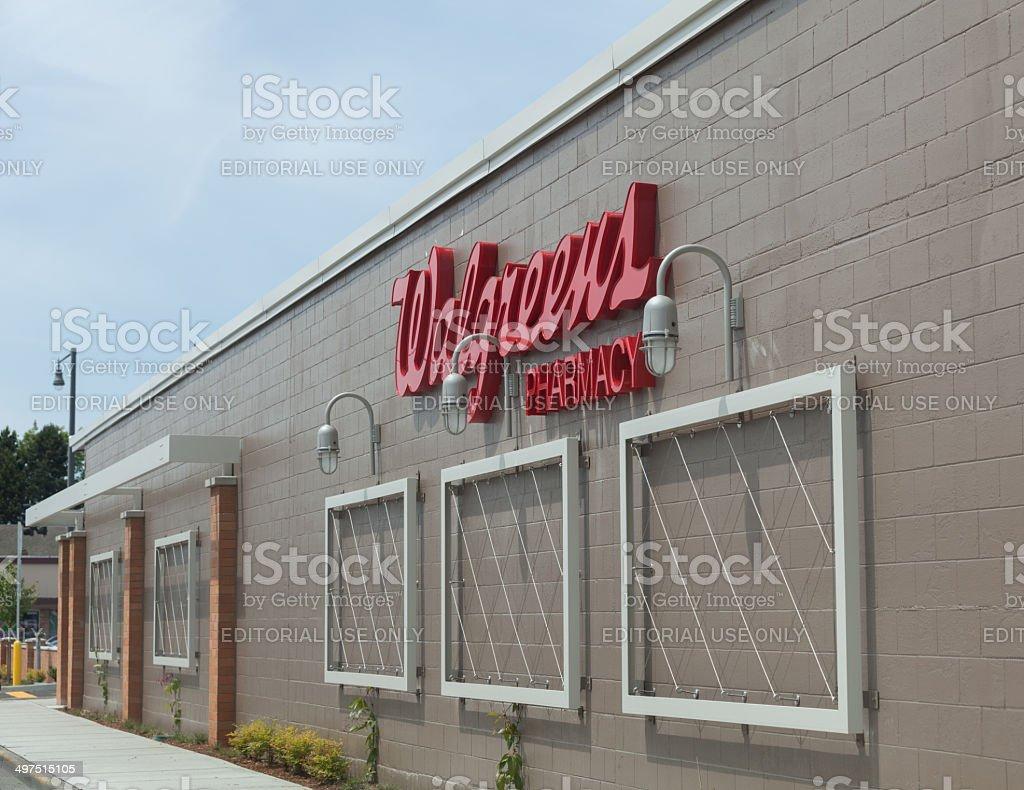 Walgreens Store Construction stock photo