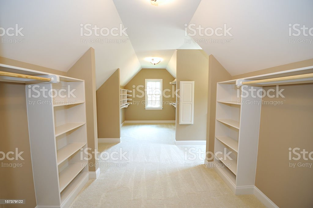 Walk In Closet royalty-free stock photo