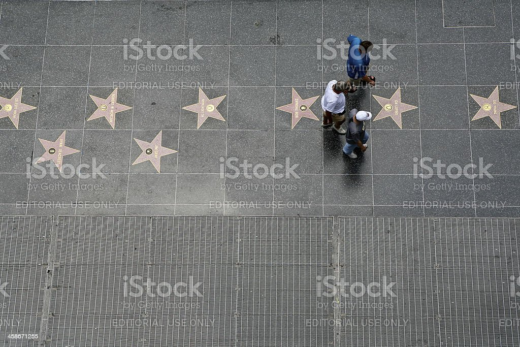 Walk of Fame royalty-free stock photo