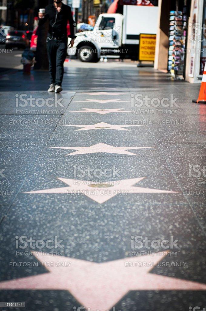 Walk Of Fame royalty-free stock photo