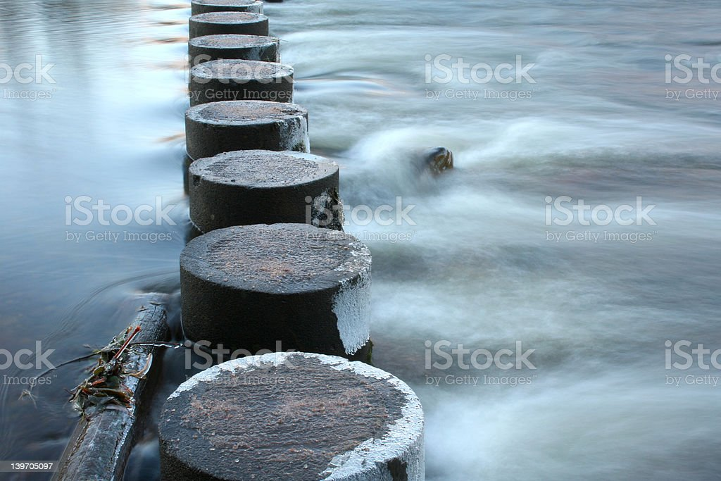 Walk On Water royalty-free stock photo