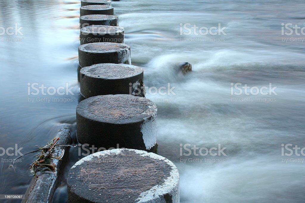 Walk On Water stock photo