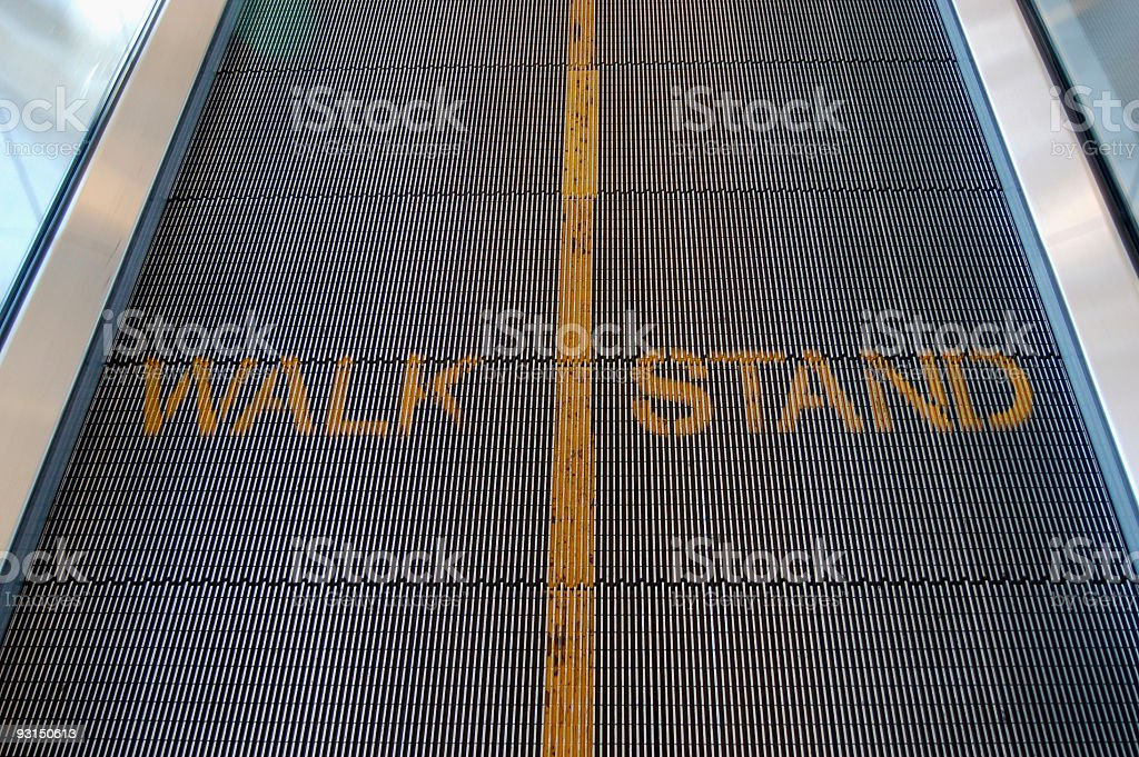 Walk Stand royalty-free stock photo