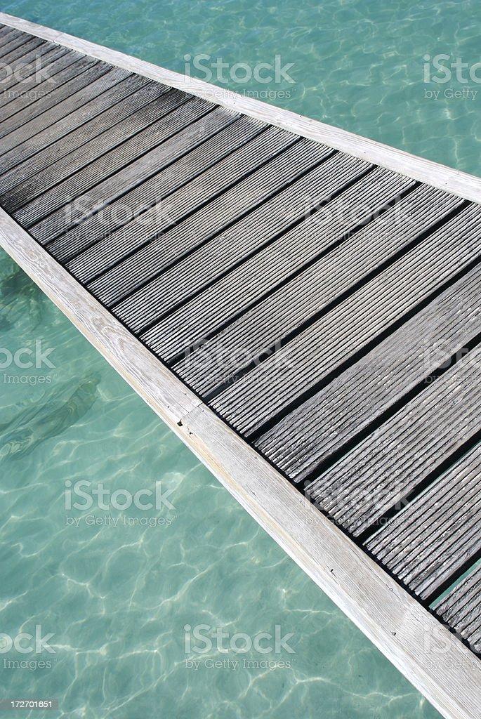 Walk the Plank royalty-free stock photo