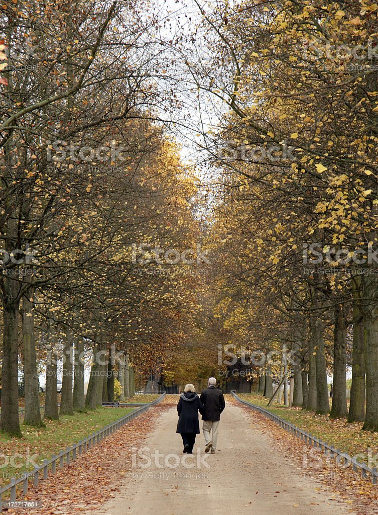 Walk your life royalty-free stock photo