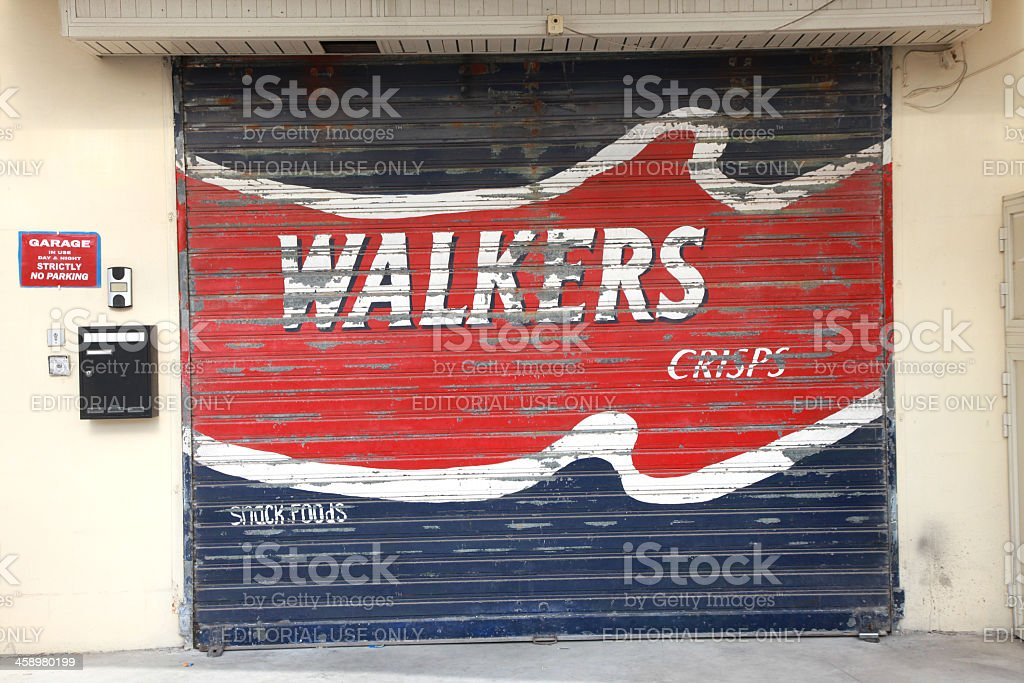 Walkers Crisps stock photo