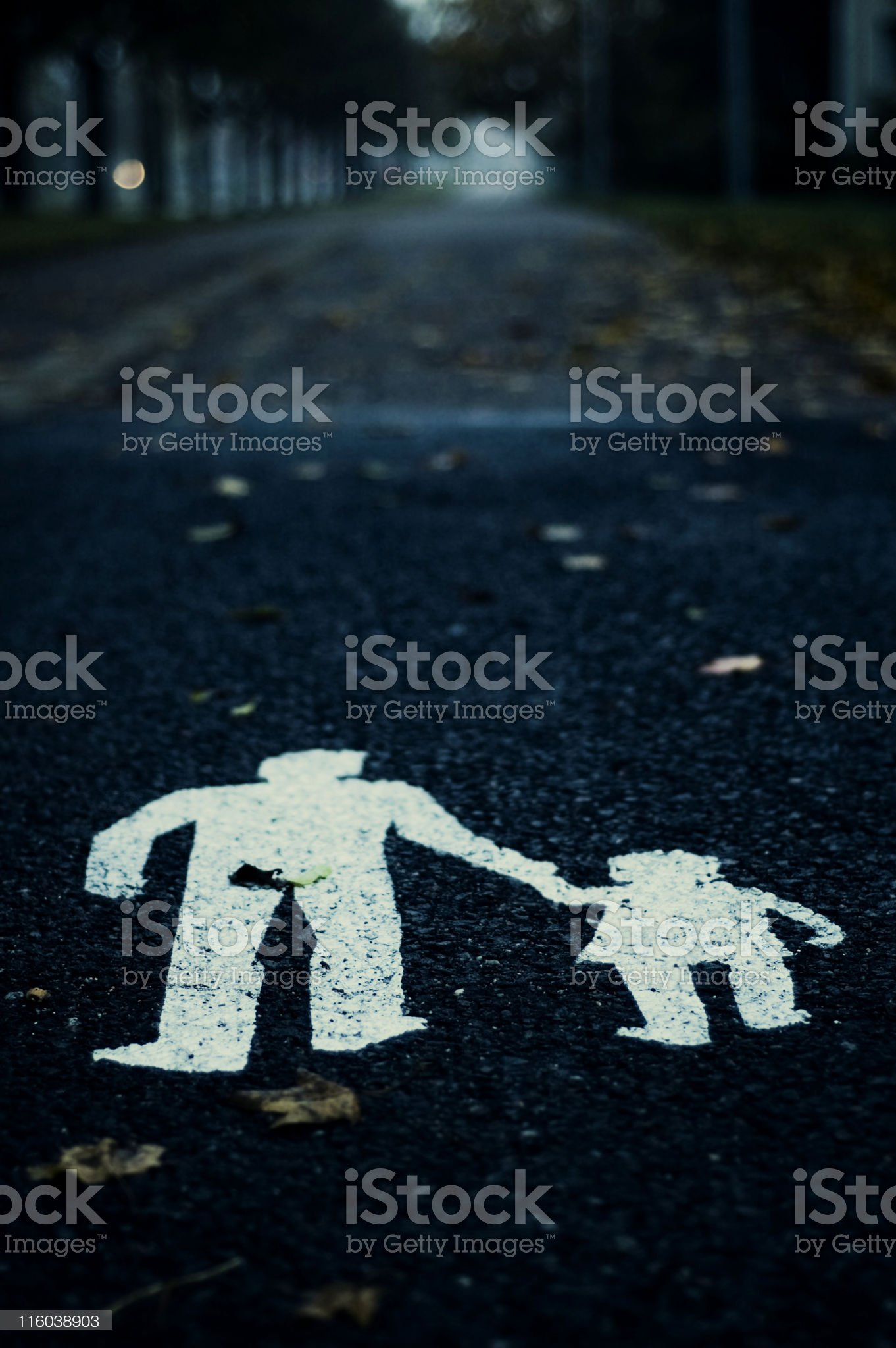walkers royalty-free stock photo