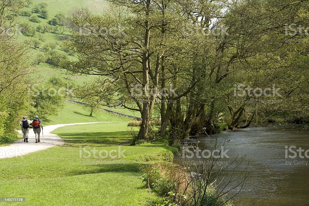 walkers river valley royalty-free stock photo