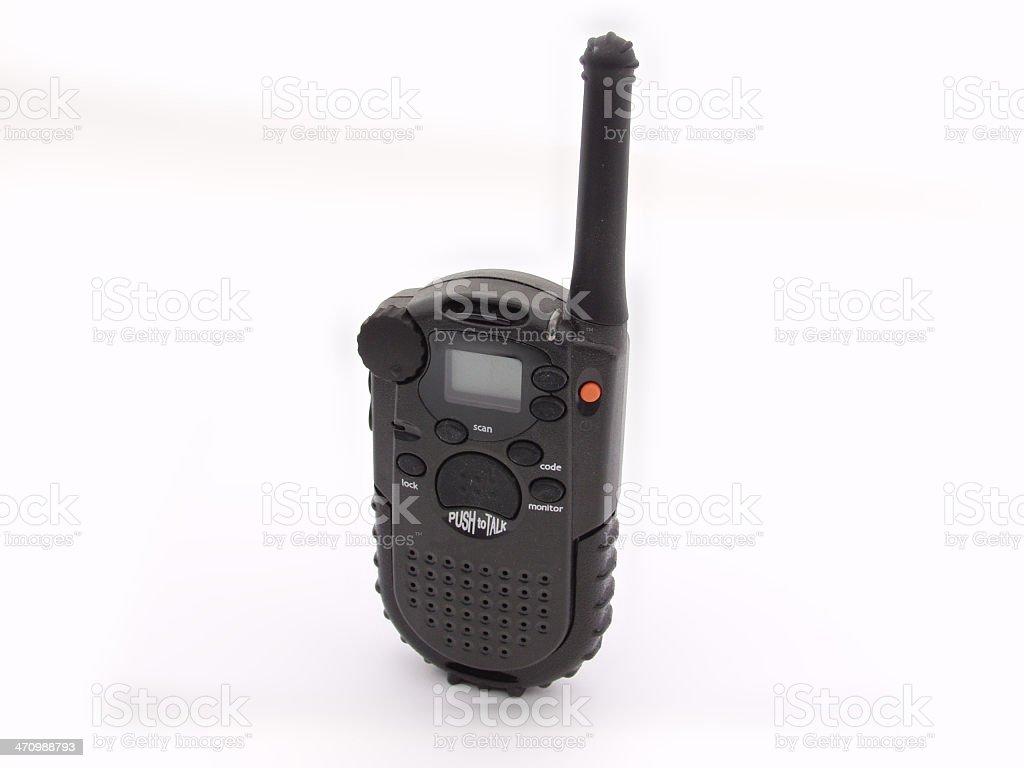 CB walkie talkie stock photo