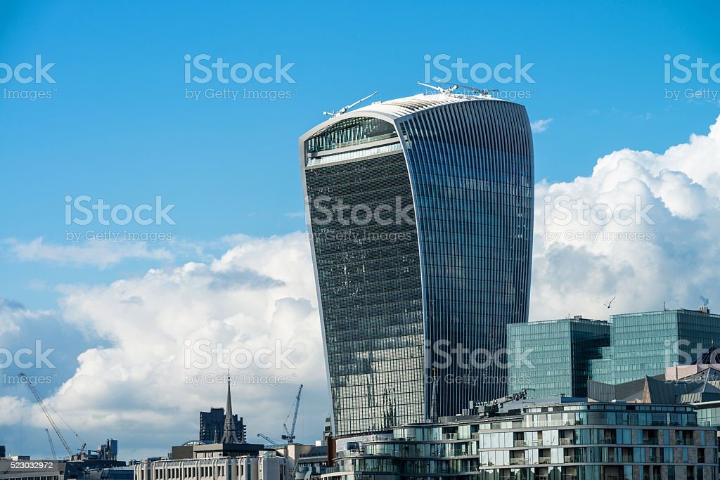 Walkie-Talking Building, London stock photo