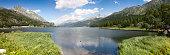 Walking around Sils Lake on Engadine Valley