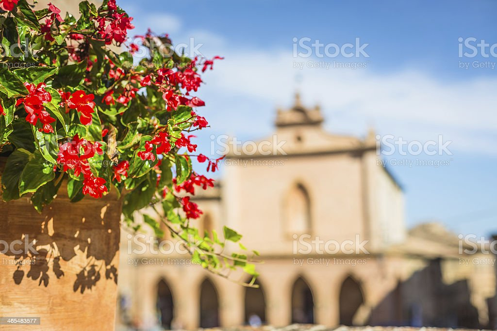 Marche country. stock photo