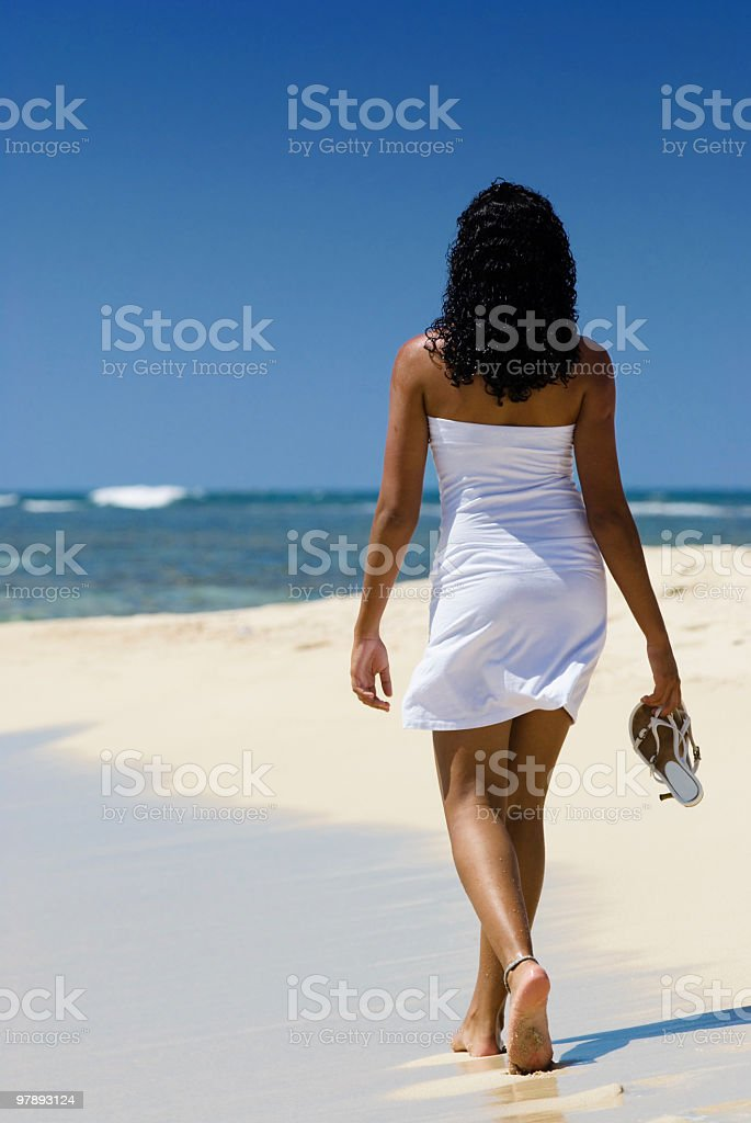 Walking in freedom royalty-free stock photo