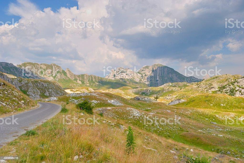 Chodzenie w Durmitor, Czarnogóra. zbiór zdjęć royalty-free