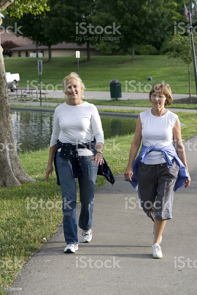 Walking in the park 4. royalty-free stock photo