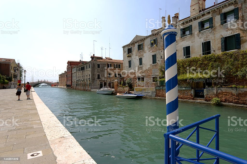 Walking in Venice. royalty-free stock photo