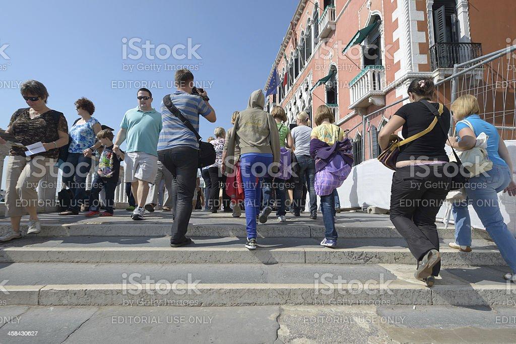 Walking in Venice royalty-free stock photo