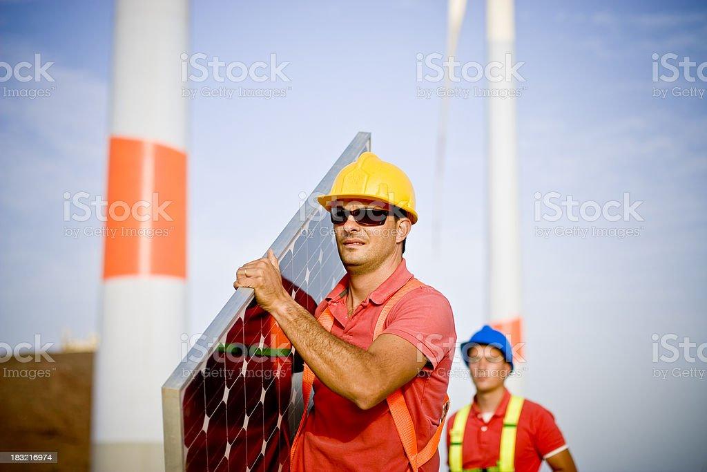 Walking into a new era of jobs royalty-free stock photo