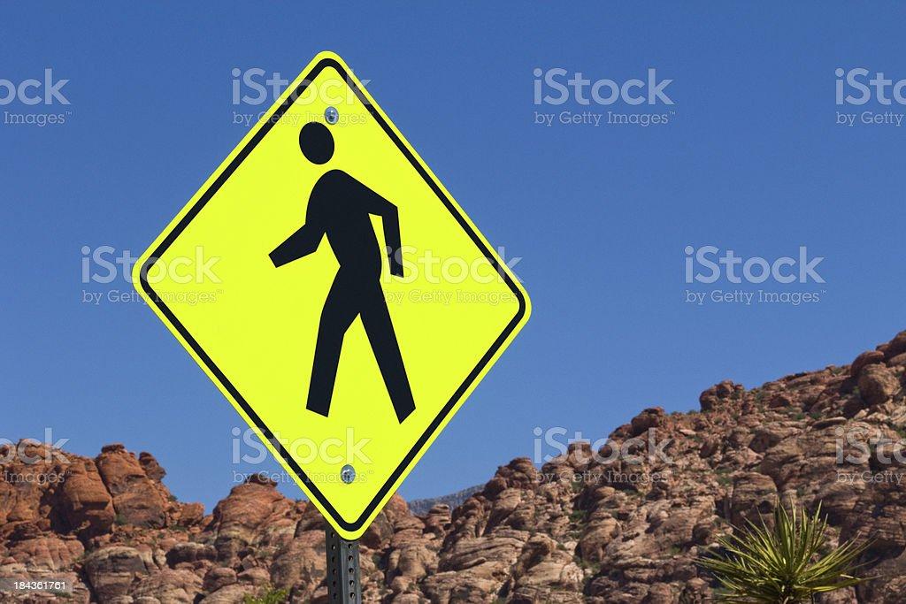 Walking Man royalty-free stock photo