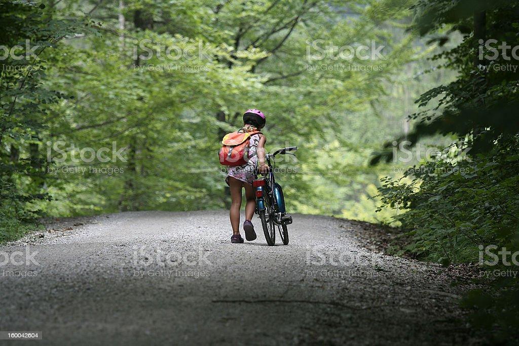 A mi bicicleta foto de stock libre de derechos