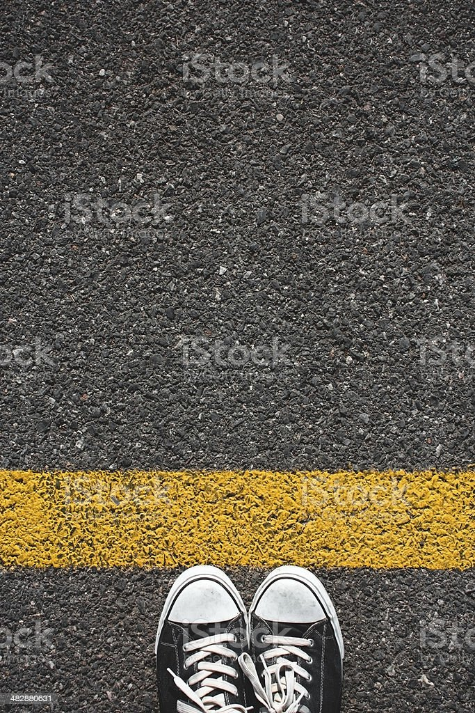 Walking obstacle royalty-free stock photo
