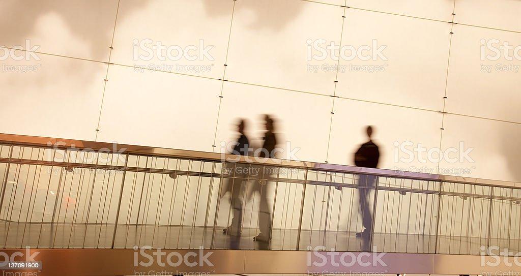 walking people royalty-free stock photo