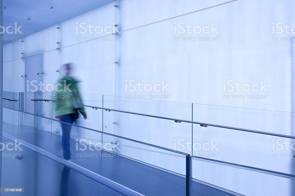 walking person royalty-free stock photo