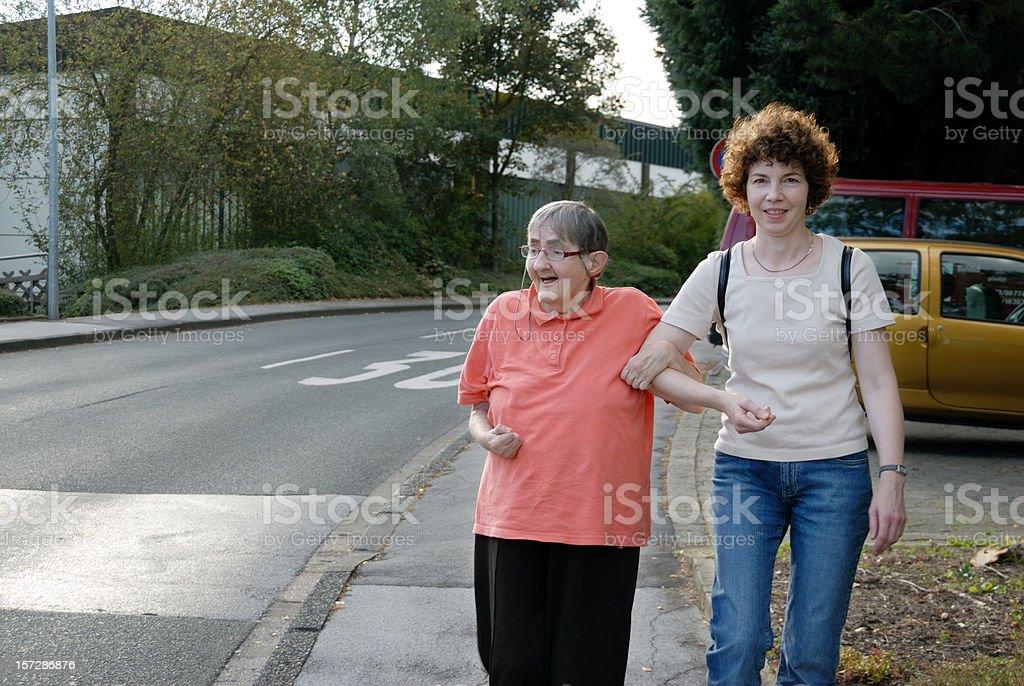 walking royalty-free stock photo