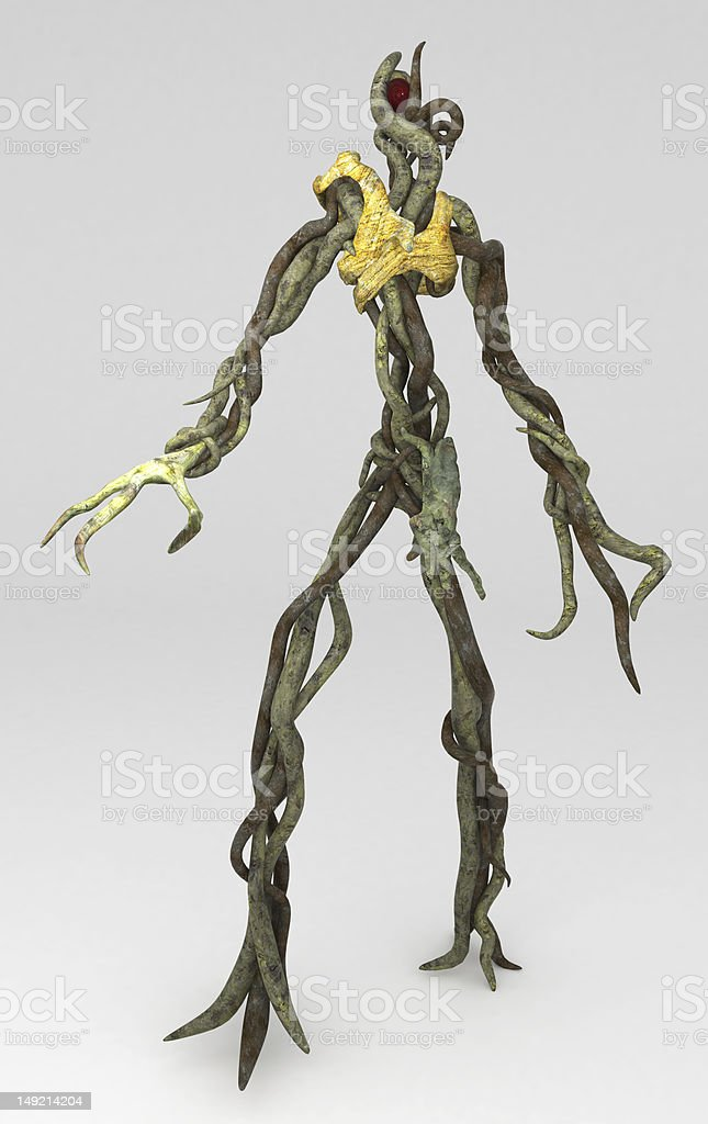 Walking Plant, Standing royalty-free stock photo