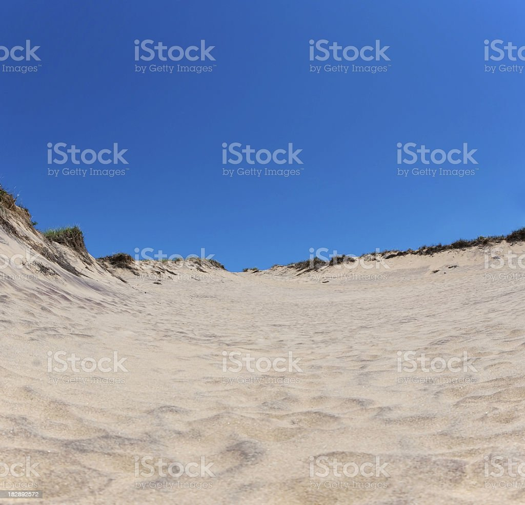 Walking Sand Dunes stock photo