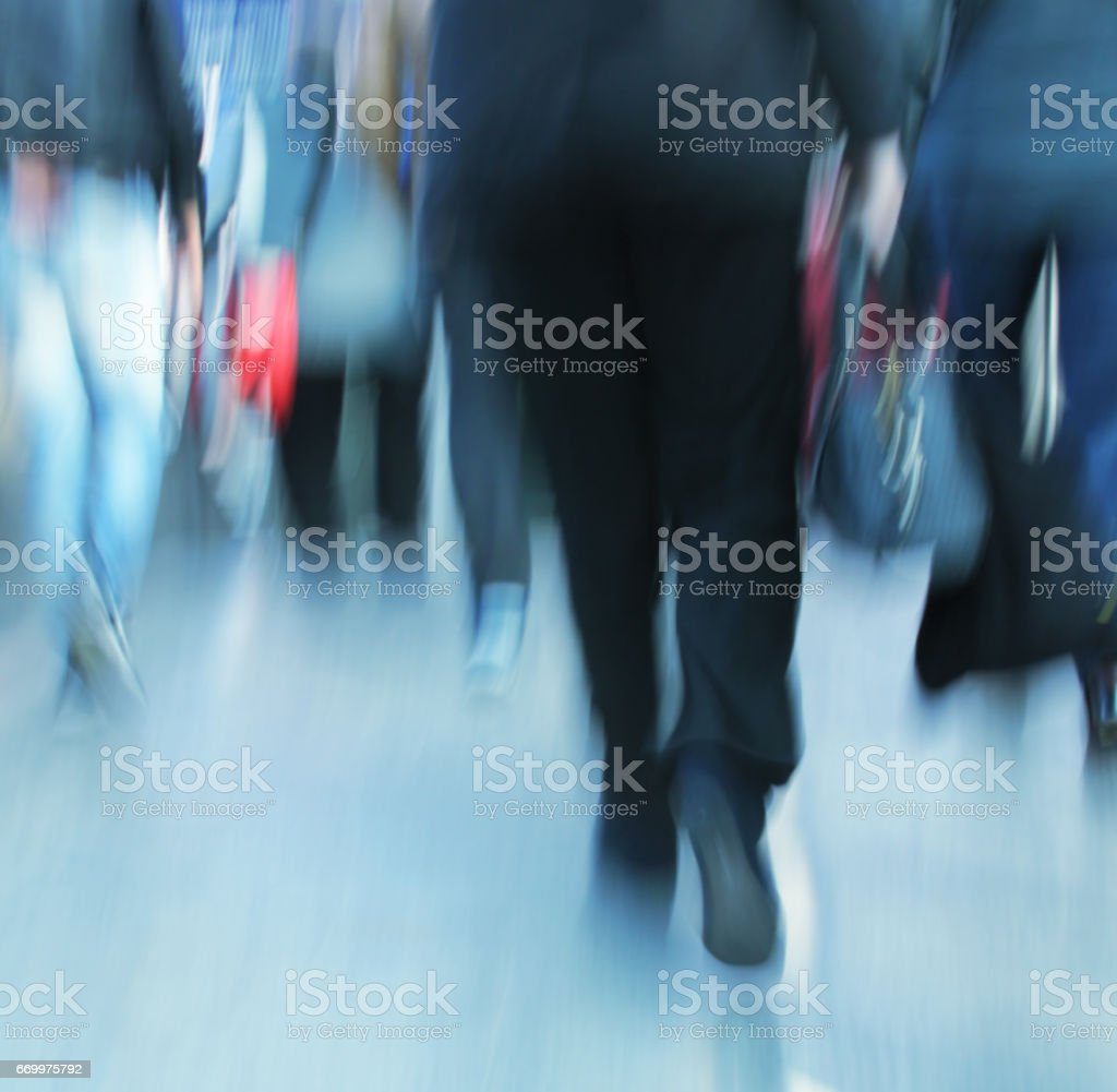 walking shopper people stock photo