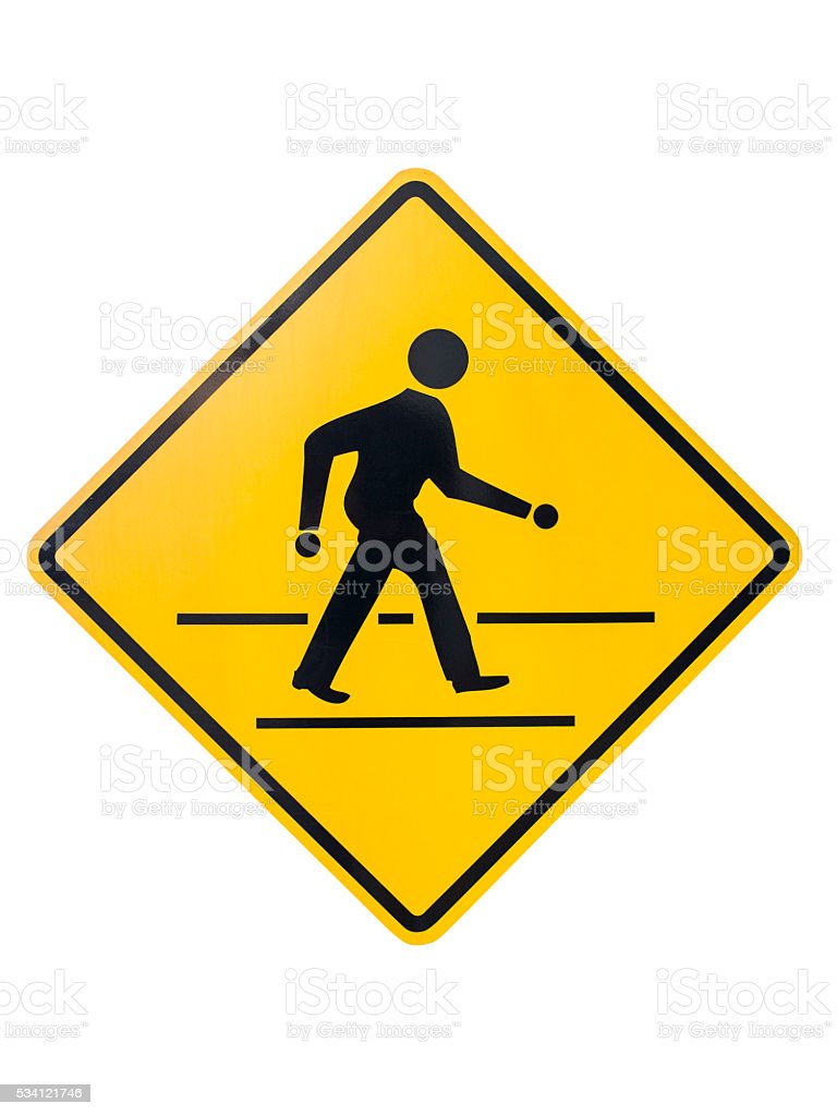Walking sign. stock photo