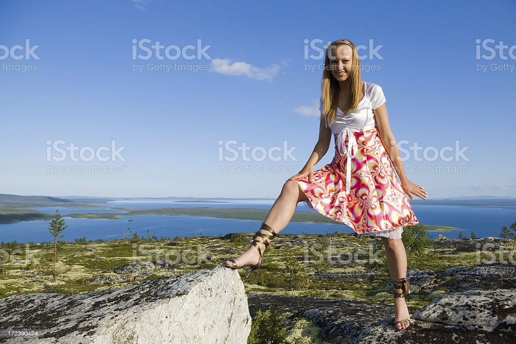 Walking wild royalty-free stock photo