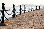 walkway beside the sea