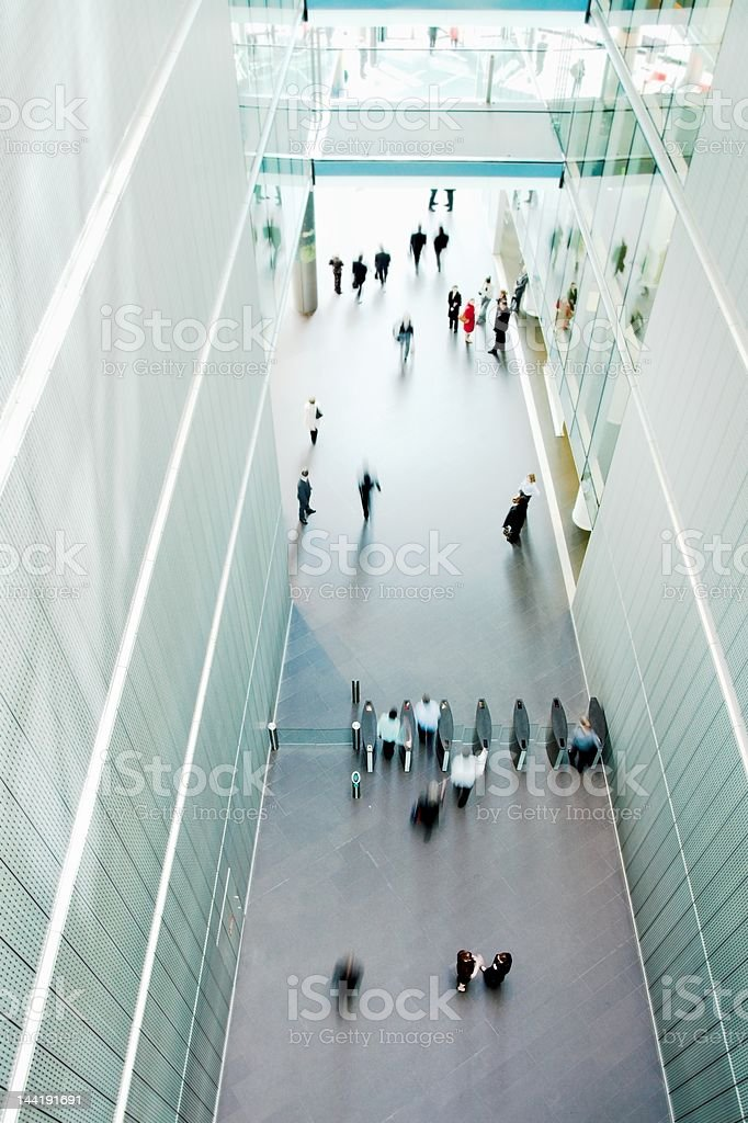 walkway from above3 royalty-free stock photo
