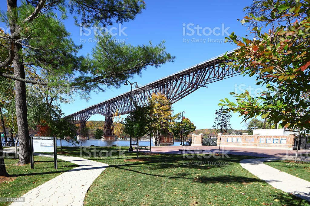 Walkway Over the Hudson State Historic Park stock photo