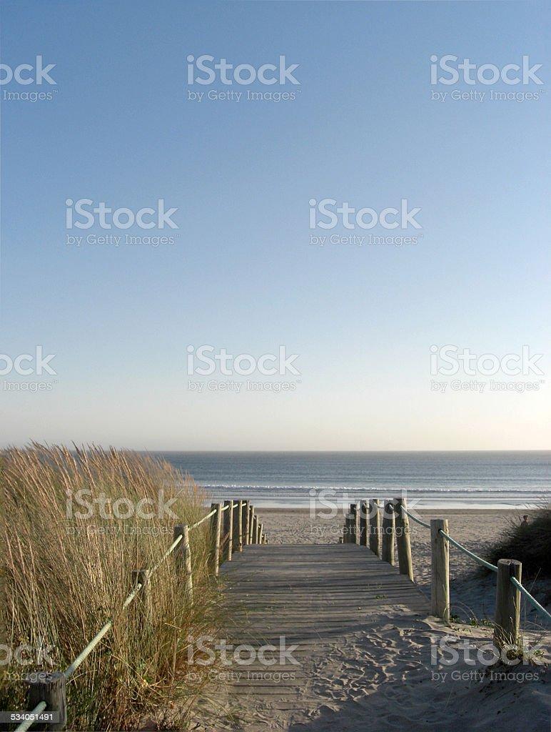 Passeio para o mar foto de stock royalty-free