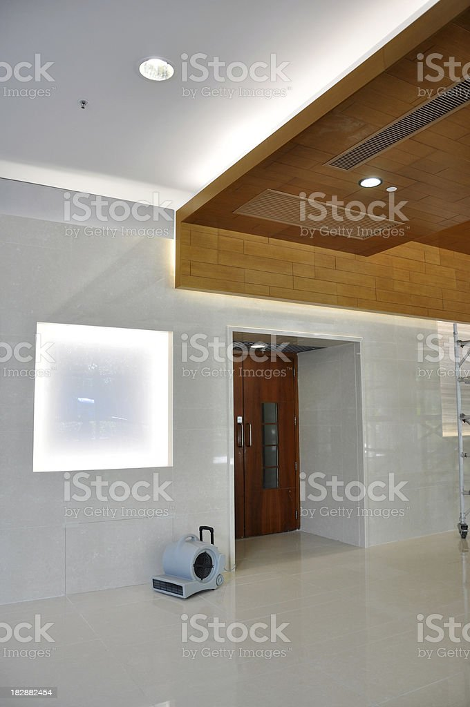 Wall and Ceiling Lighting stock photo