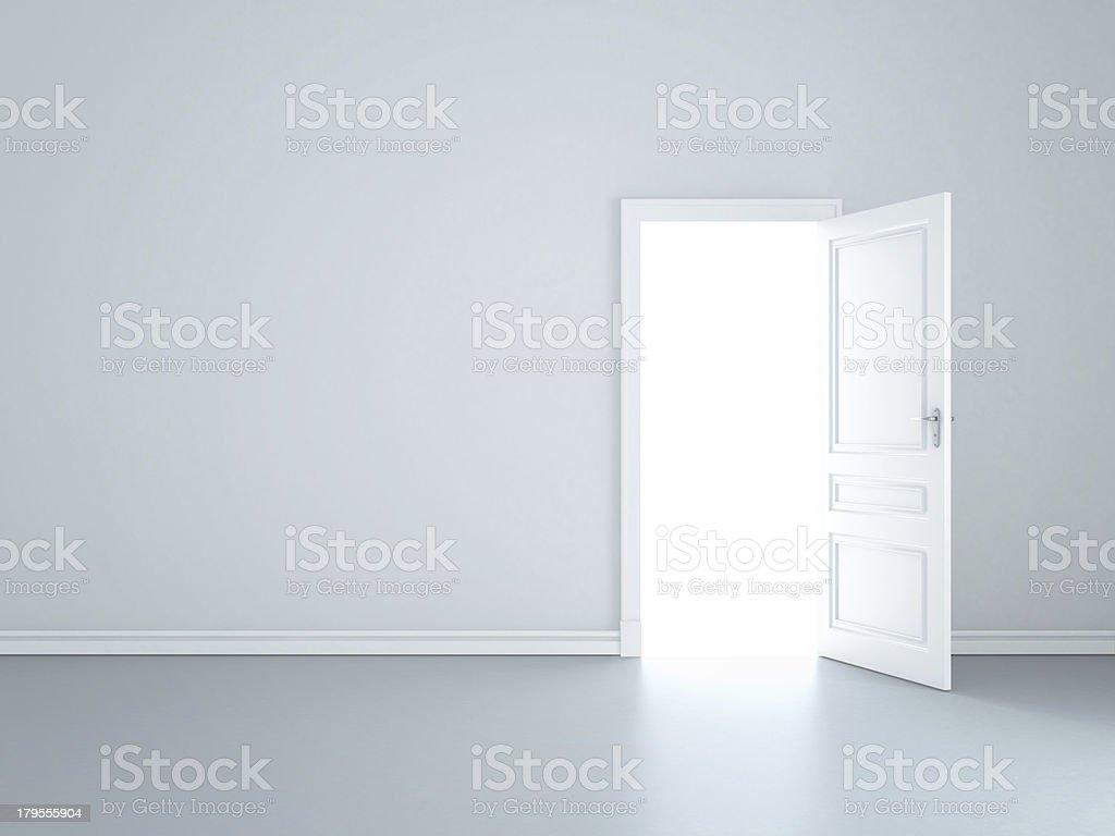 wall and door stock photo