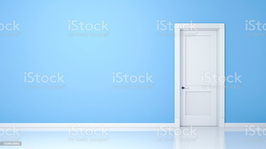 wall and door stock photo