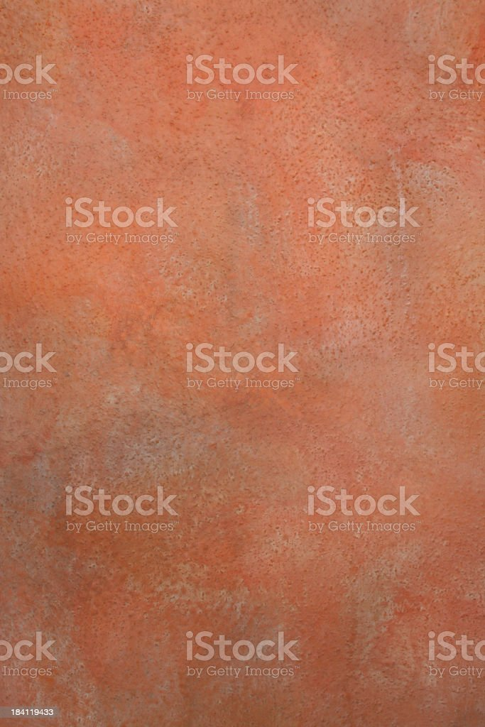 Wall Background Texture, Tuscany Italian Terra-Cotta Faux Painted Texture stock photo