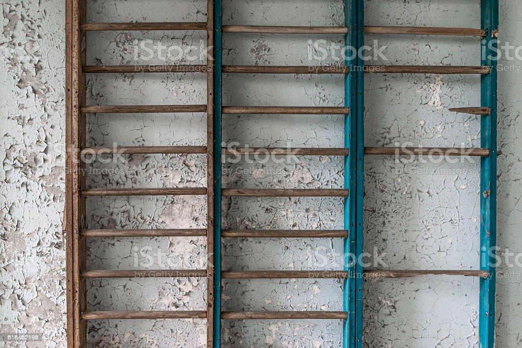 Wall bars stock photo