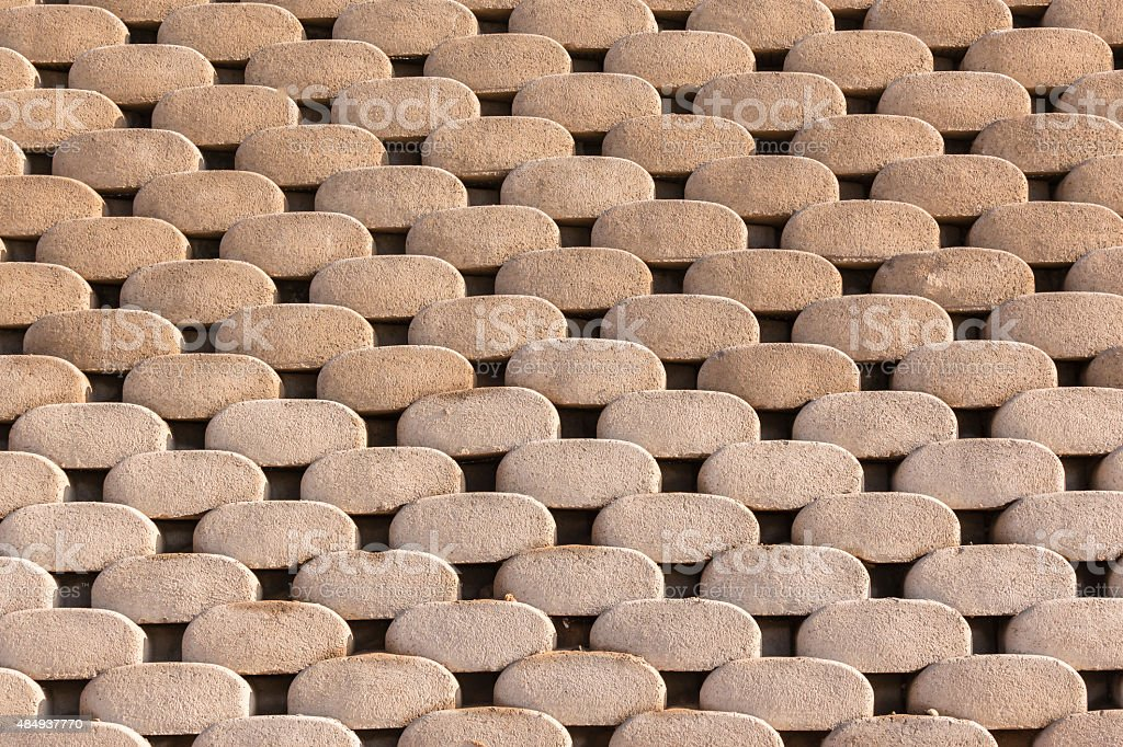 Wall Blocks Background stock photo